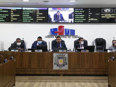 Câmara de Sumaré coloca três PLs em votação na sessão desta terça-feira