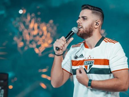 Zé Neto faz piada com camisa do São Paulo e torcida ataca cantor