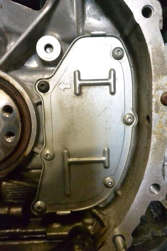 Subaru PCV Baffle Seal Rear of Engine