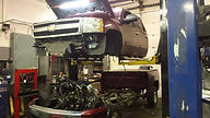 Silverado Engine Rebuild Removal of Cab from Chassis