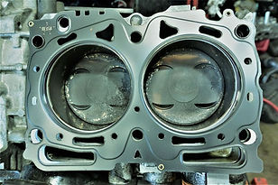 EJ251 | EJ253 2.5 SOHC Cylinder Head Gasket Repair '00-'12 Outback, '00-'12 Legacy '00-'10 Impreza '00-'05 Baja   3 Year | 36,000 Mile Parts & Labor Warranty  Improved MLS Head Gaskets Full 3 Angle Valve Job + CBN Milled Heads Genuine O.E.M Timing Belt, Components & Water Pump. NGK Iridium Spark Plugs Genuine Thermostat Genuine  Gaskets & Seals  Blue Coolant ** Not for Subaru EZ30 H6 **