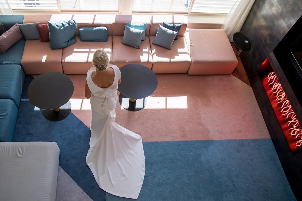 Ovolo Hotel, Maticevski Bridal Gown