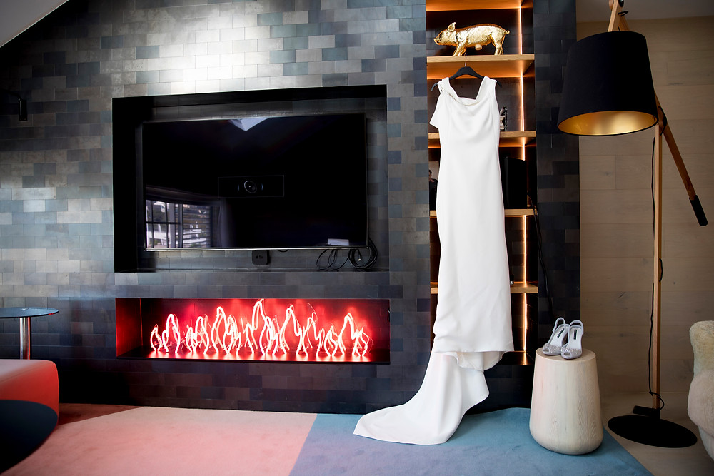 INXS suite at Ovolo Hotel Toni Maticevski