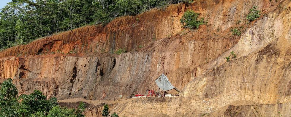 Mining Reunion Gold Drilling in Guyana