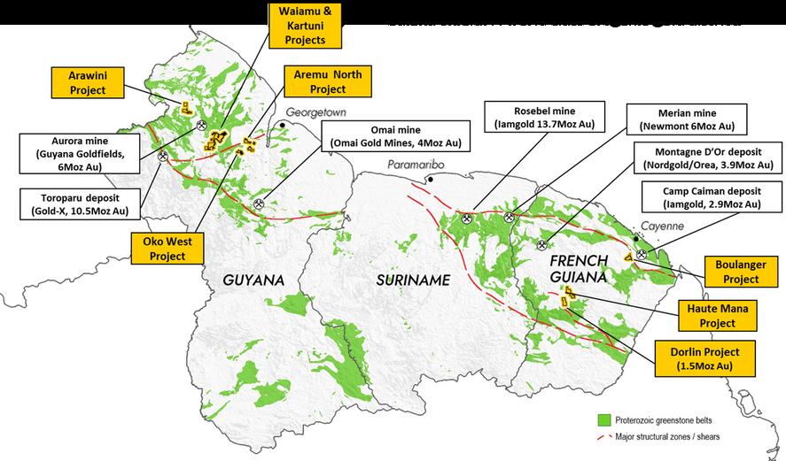 Guiana Shield Overview