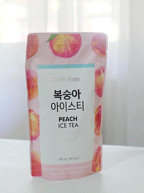 [PRE ORDER] Caffe Bene Peach Iced Tea