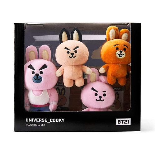 [ON HAND] BT21 Universe Cooky Plush Doll Set