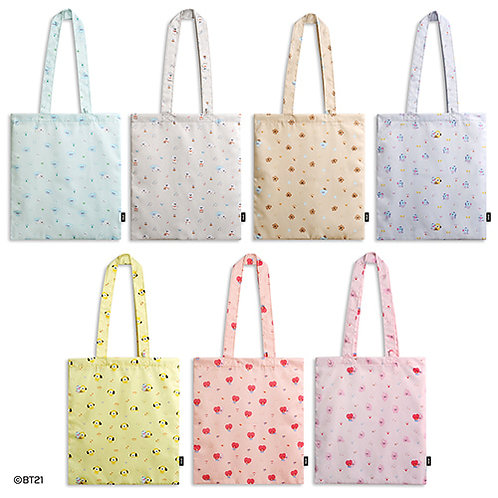 [PRE-ORDER] MONOPOLY x BT21 Baby Pattern Eco Bag