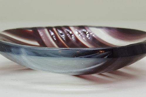 Rosy Strips Trinket Dish