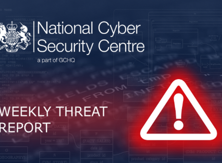 Weekly Threat Report 3rd May 2019