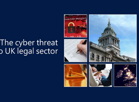 'The cyber threat to UK legal sector' 2018 report
