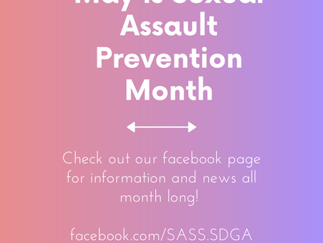 Sexual Assault Prevention Month