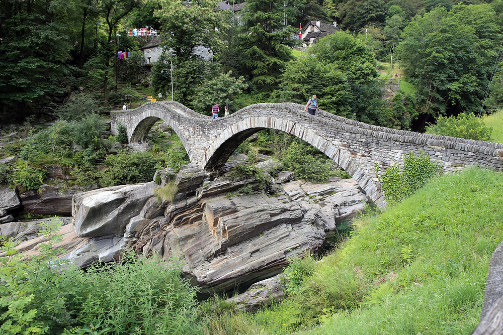 Double Arched Bridge (Ponte dei Salti) from the 17th Century