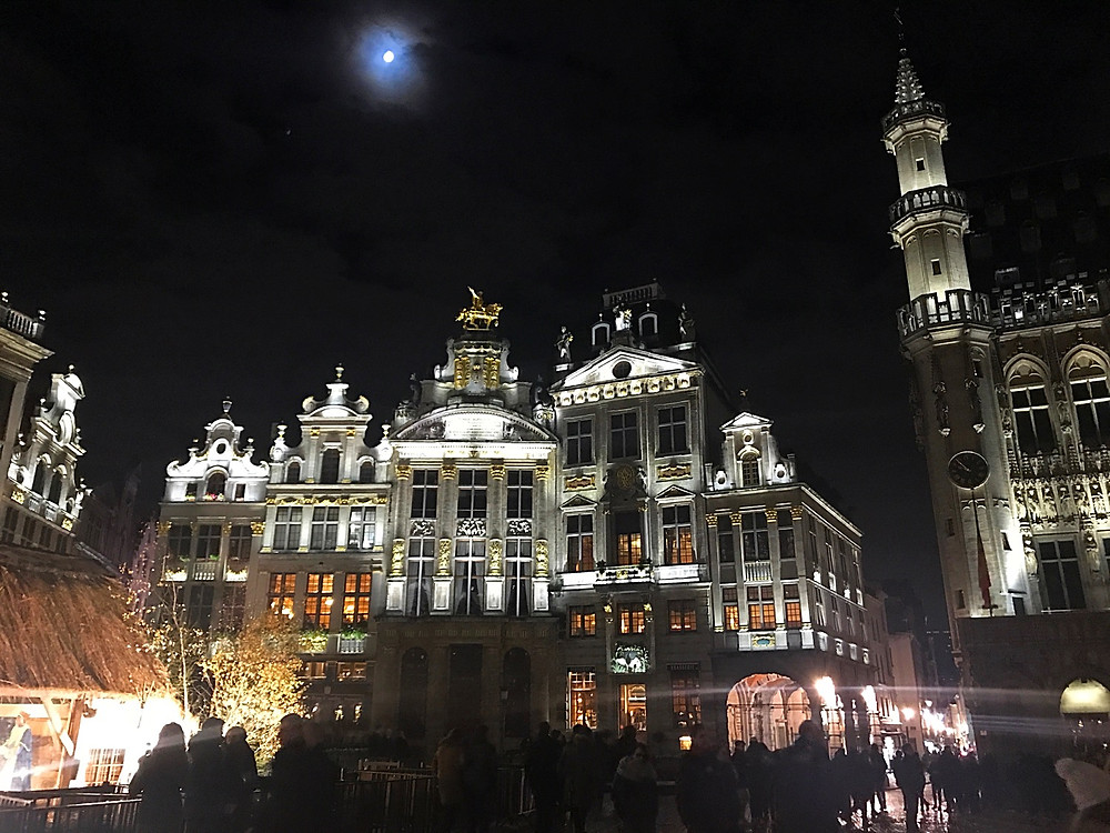 Christmas Markets in the Grand Place - Brussels, Belgium