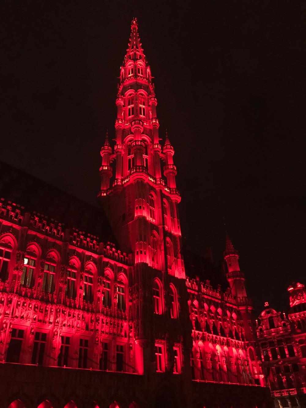 Music & Light Show - Hôtel de Ville de Bruxelles