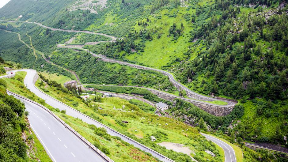 Switzerland: Furka Pass
