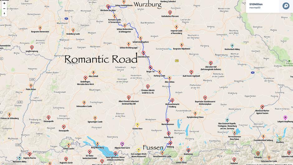 Germany: The Romantic Road