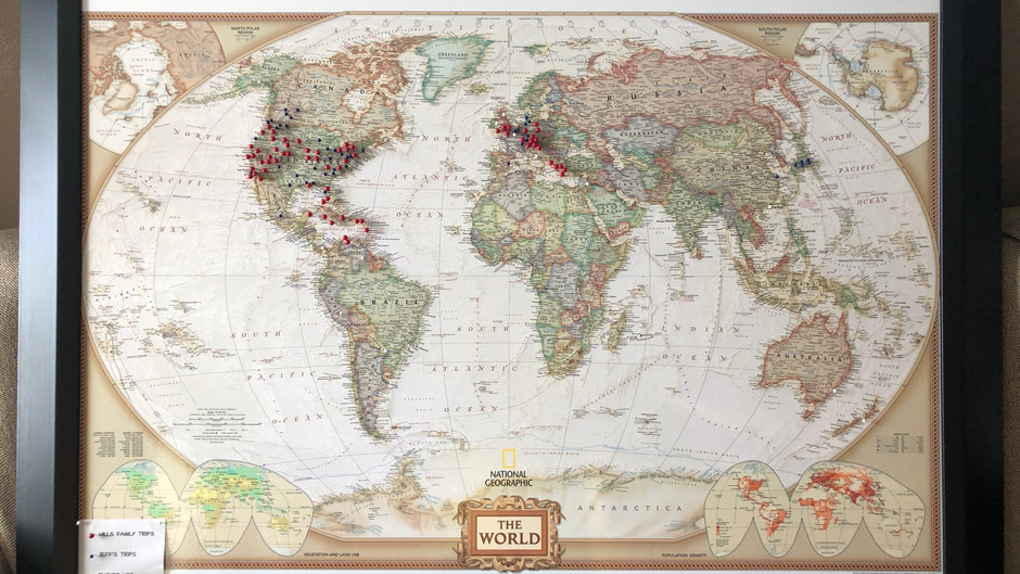 The Family Travel Map