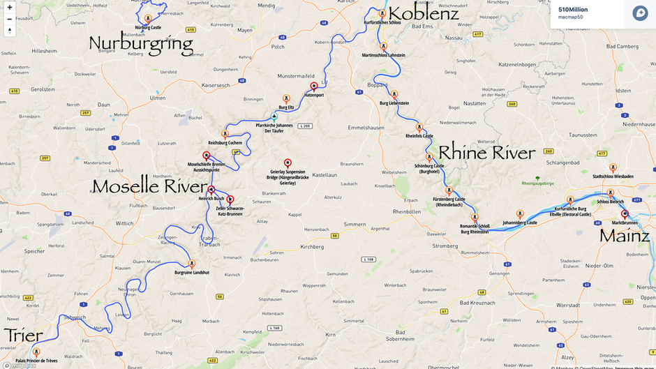 Germany: Moselle & Rhine Rivers, Part 2