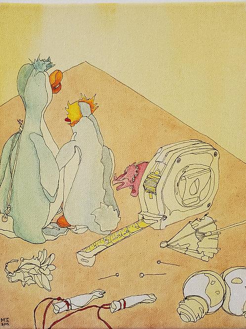 "Marta McWhorter-""Our Stuffed Friends 26"""