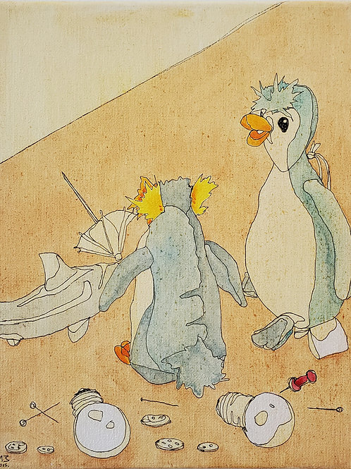 "Marta McWhorter-""Our Stuffed Friends 16"""