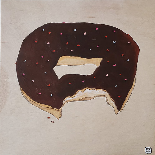 "Marta McWhorter-""Iced Chocolate"""