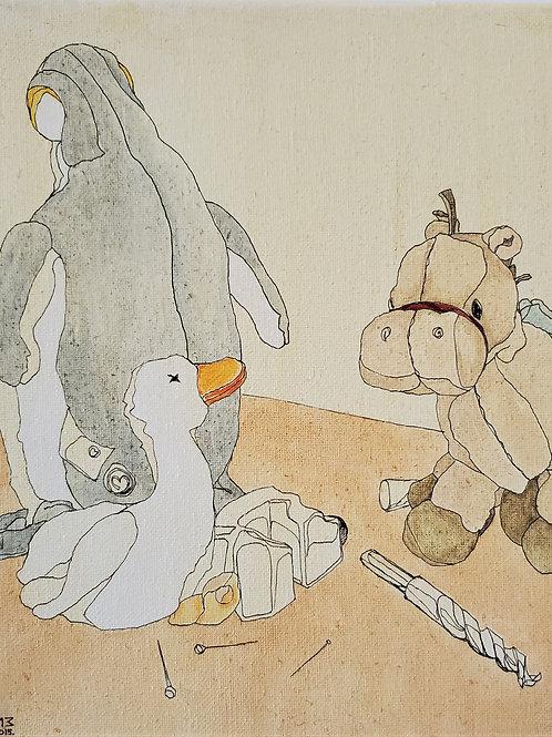 "Marta McWhorter-""Our Stuffed Friends 10"""