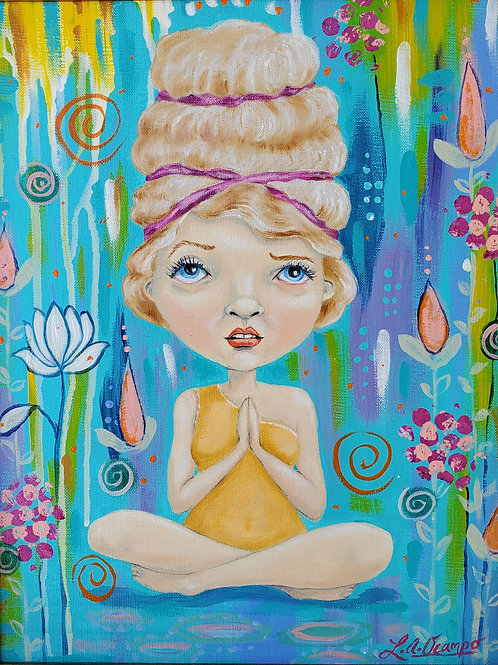 """Lisa Ocampo-""""In Search of Enlightenment"""""""