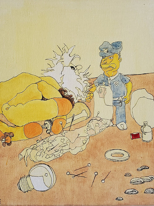 "Marta McWhorter-""Our Stuffed Friends 24"""