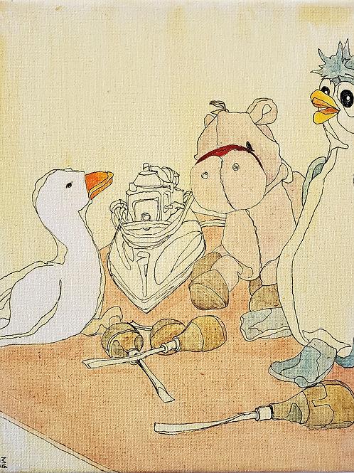 "Marta McWhorter-""Our Stuffed Friends 22"""