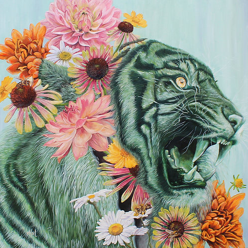 """Michelle Perez-""""Year of the Tiger"""""""