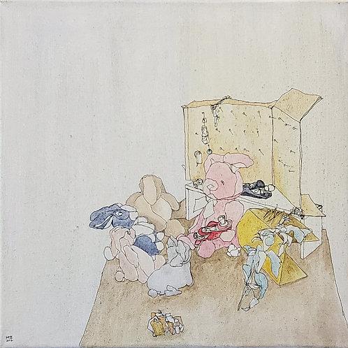 """Marta McWhorter-""""Basil Bunnies III"""""""