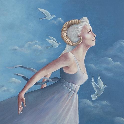 """Rose Marie Woulfe-""""Sempre Avanti (Aries)"""""""