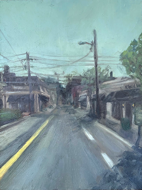 """Whitaker St."" by Robin Johnson"