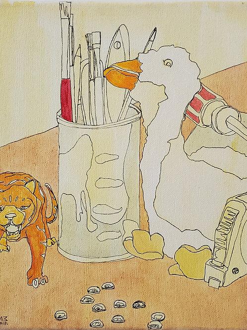 "Marta McWhorter-""Our Stuffed Friends 8"""