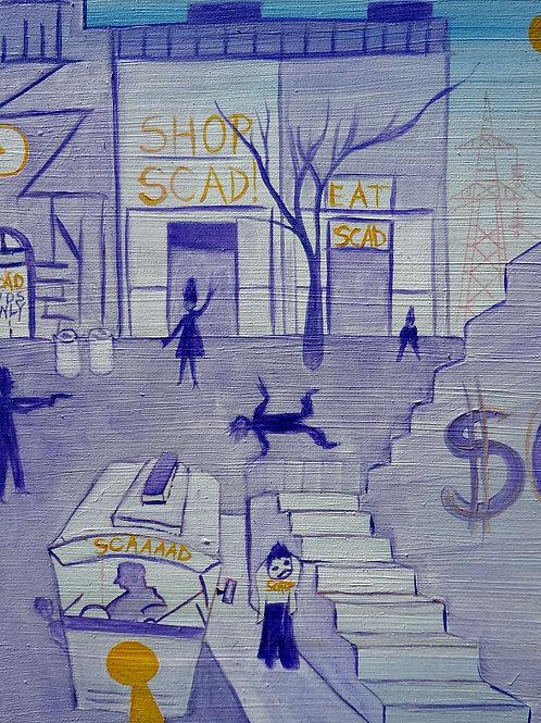 """Oglethorpe Ave."" by Andre Bertolino"