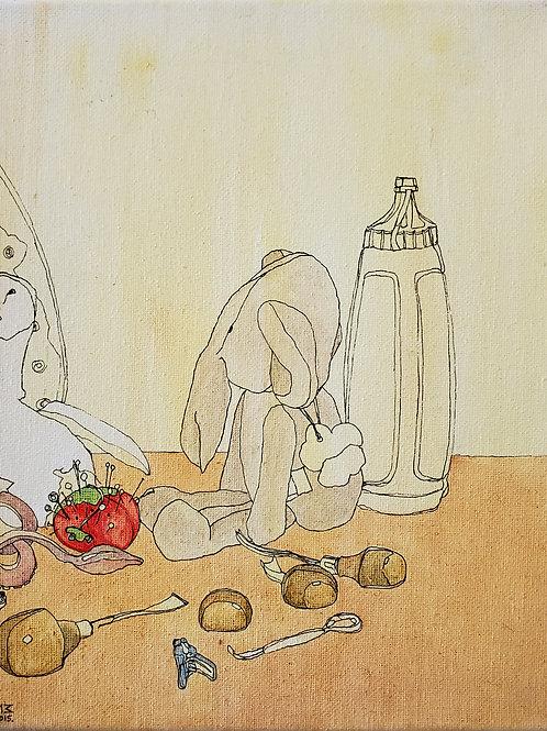 "Marta McWhorter-""Our Stuffed Friends 15"""