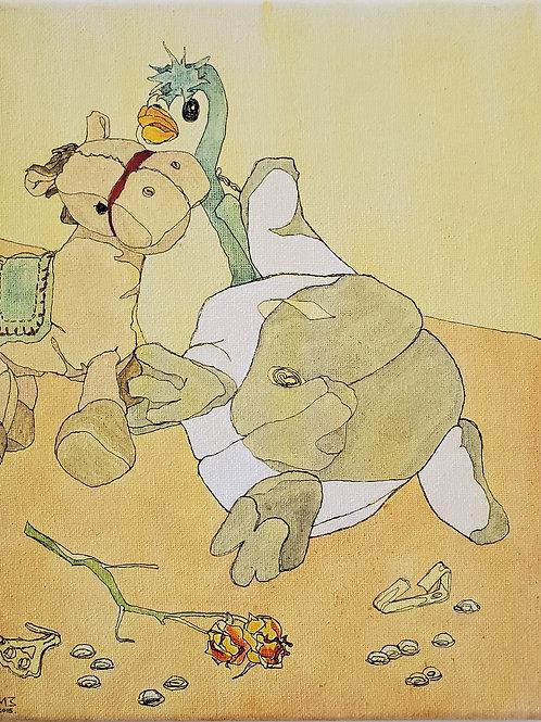 "Marta McWhorter-""Our Stuffed Friends 13"""