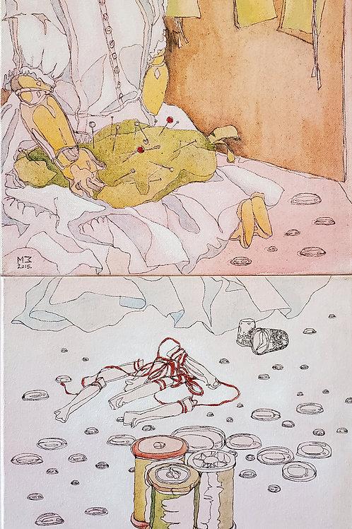 """Marta McWhorter-""""Disjointed Dolls 2"""""""