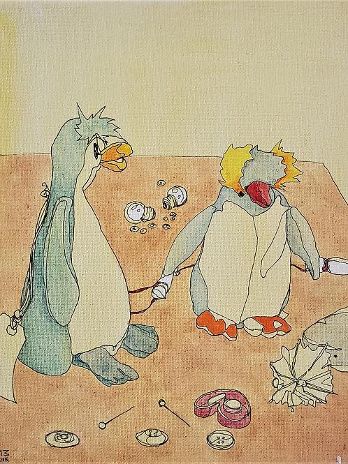 "Marta McWhorter-""Our Stuffed Friends 17"""