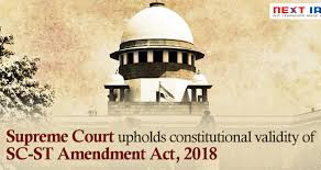 The Draconian Legislation of SC/ST (Prevention of Atrocities) Act 1989.