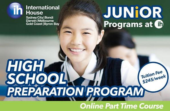 IH High School Preparation program 2021.