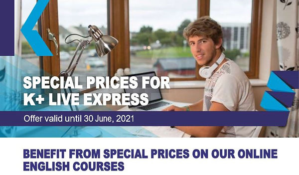 SPECIAL PRICES FOR  K+ LIVE EXPRESS.JPG