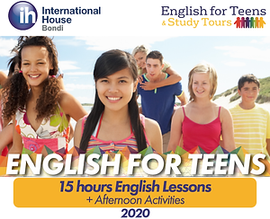 IH Sydney English For Teen 2020 Pricelis