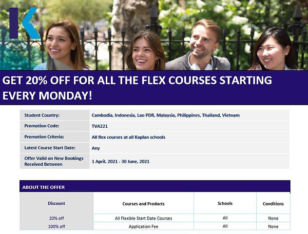 GET 20% OFF FOR ALL THE FLEX COURSES.JPG