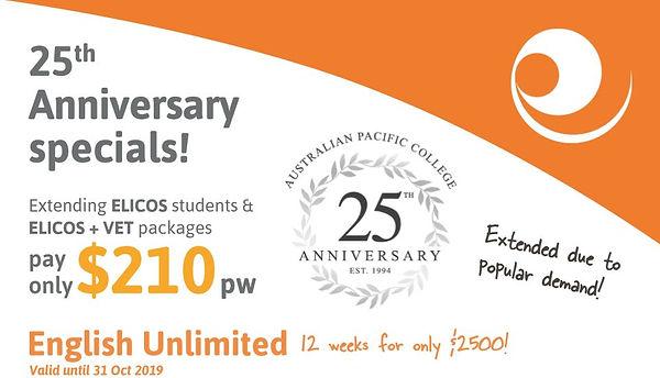 English Unlimited 25th Anniversary Speci