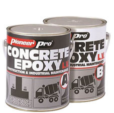 Pioneer Concrete Epoxy LV Construction And Industrial Maintenance Low Viscosity
