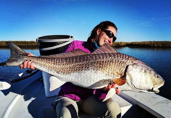 flyfishing for reds