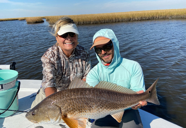 sight fishing for redfish