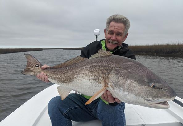 light tackle redfish